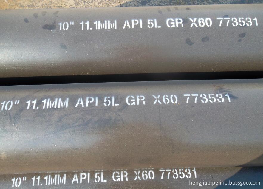 API 5L seamless pipes