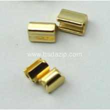Brass No.5 Zipper Stop for metal zippers