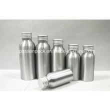 100ml frasco de alumínio cosmético com tampa de parafuso (PPC-AEOB-018)
