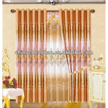 Diseño de la cortina para el dormitorio