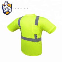 stripe safety Work Wear 100% polyester slim fit reflective polo shirts