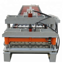 Galvanized Steel Sheet Glazed Tile Roll Forming Machine