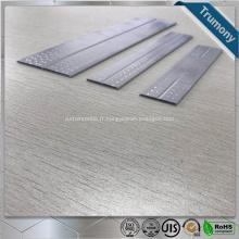 Poteaux en aluminium à micro-canaux plats à flux parallèle