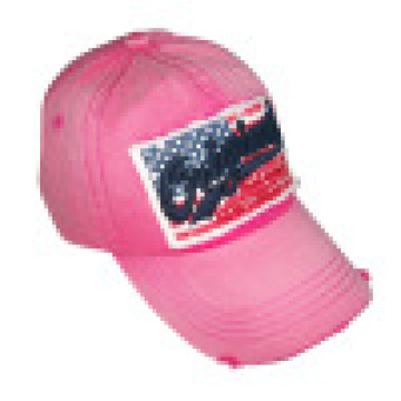 Washed Cap with Felt Applique (6PWS1216)