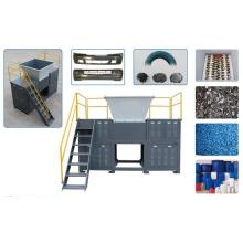 Productos plásticos grandes Trituradora de cuatro ejes