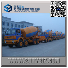 12 Wheeler North Benz 12000 Litre Concrete Mixer Truck
