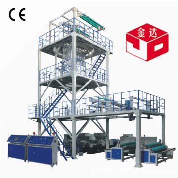 3 Экструзионная машина для производства пленки Co-Ex для изготовления пленки 1400 мм