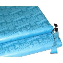 Chine Alibaba Bazin Riche Shadda Brocade Nigéria Style Jacquard Stocklot Vêtements Tissu