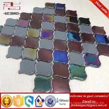 proveedor chino linterna de cuerpo completo cristal de mosaico de azulejos de vidrio backsplash