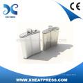 Edelstahl-Hüftkolben für Wärmeübertragung
