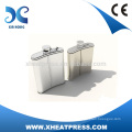 stainless steel mini hip flask for heat transfer