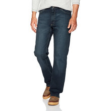 Modiga Mens Jeans Design Bomull Confort Denim Byxor