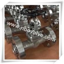 Válvula de globo com flange de 320bar F316L para Central Elétrica