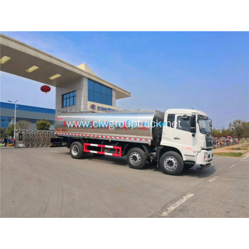 Dongfeng 304 stainless steel truck milk tank truck