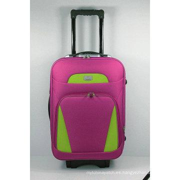 Estuche de equipaje de viaje suave fuera de la carretilla EVA de moda