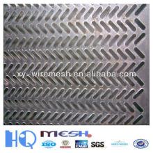 Fabricantes agujero de perforación de malla, punzonado de agujero de malla, galvanizado perforación agujero de malla al por mayor