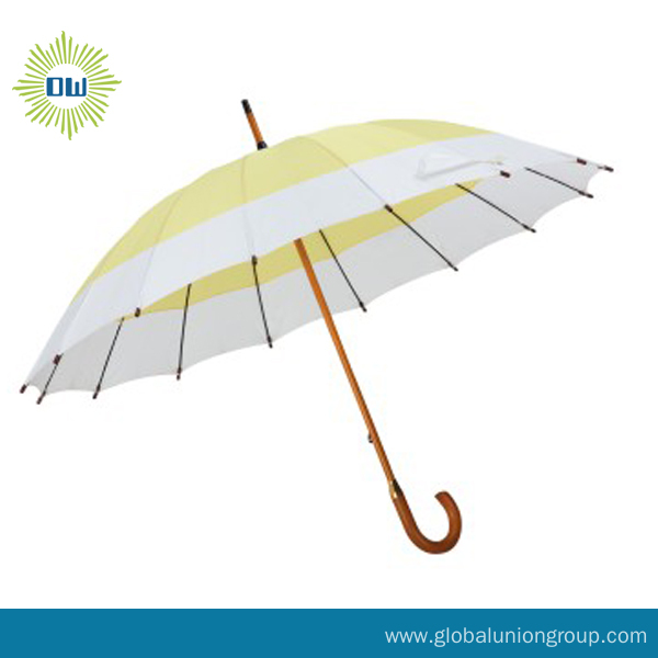 Promotional Wooden Straight Umbrella