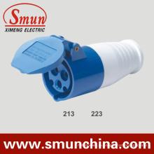 16А 32А 220В разъем 3pin 2Р+Е IP44 с электрической вилки и розетки