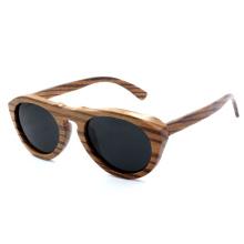 2014 neueste Art und Weise Zebra-hölzerne Sonnenbrille (JN0004HQ)