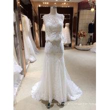 Русалка Белый свадебные платья