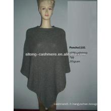 2015 nouvelle mode 100% pur tricot Cachemire PONCHO pour les femmes