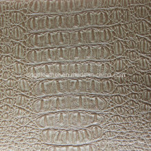 Top Grade Crocodile Design for Upholstery Leather (QDL-53200)