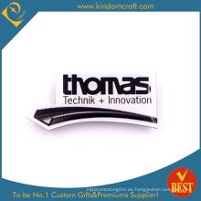 Insignia promocional promocional del Pin de la publicidad de la innovación de la materia impresa del metal de China