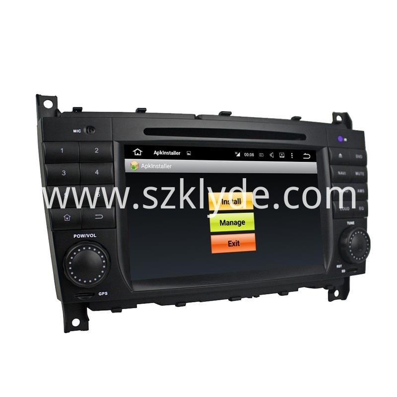 Benz w203 android 7.1 car audio (6)