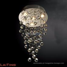 Lâmpada de cristal tradicional baccarat art deco luminárias lustre para casa 92042