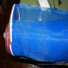 Maille d'écran en fibre de verre de couleur bleue ignifuge