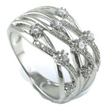 Vente en gros 2015 Bague en bijoux en argent sterling 925 en robe la plus nouvelle (R10325)