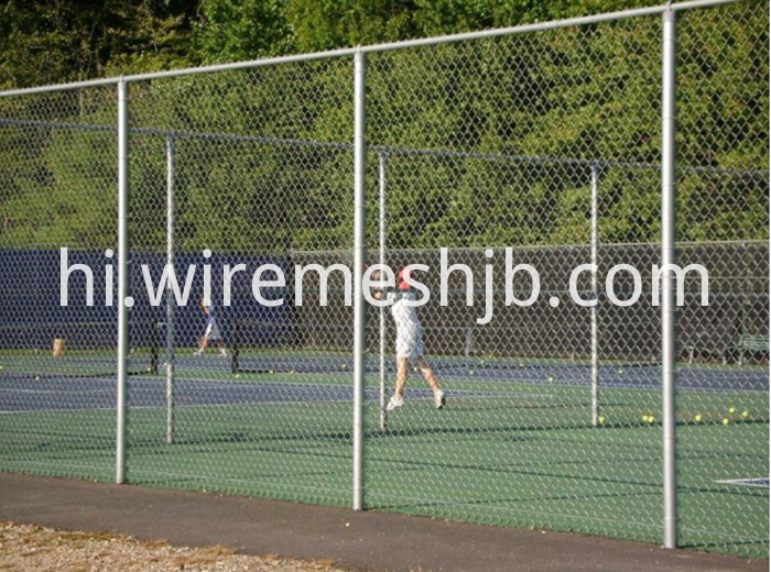 Tennis Court Chain Link Fences