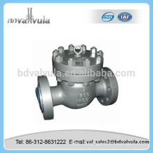 China good price swing start cast steel check valve