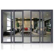 Heiße neue Produkte sturmfeste Hoteleinstiegstüren aus laminiertem Doppelglas