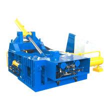 Altmetall-Stahl-Recycling-Ballenpresse mit seitlichem Ausschub