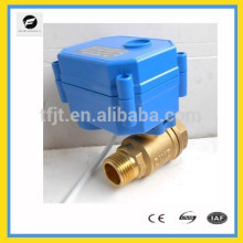 """DC12V 2wires contrôle 2-way filetage mâle-femelle connexion 1/2 """"électrique On-Off valve avec ayto retourner la fonction"""