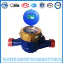 Dn15-25mm brass valve multi beam water meter