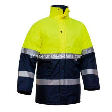 Parka Reflective Safety Jacket with Pocket