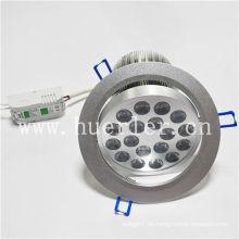Venta caliente AC100-240v 220v 18w abajo de la luz llevada shenzhen