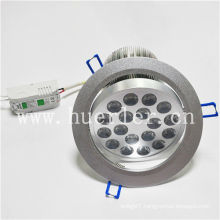 hot sale AC100-240v 220v 18w down light led lighting shenzhen