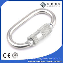 Hot sale! high quality! carabiner hook with eyelet and screw