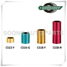 Aluminum Sleeve and Cap for tire valve