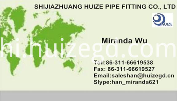 business card for pipe nipple