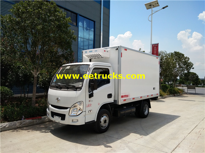 Yuejin Insulated Box Vehicles