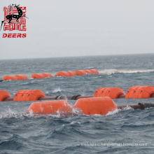 Deers Dredging PE Floater / Pipe floats for HDPE Pipe