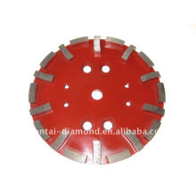 diamond cutting wheel for soft bond concrete floor