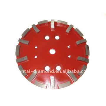diamond cutting wheel for soft bond concrete floor