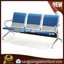 Cheap price airport chair waiting chairs , 3-seater waiting chair