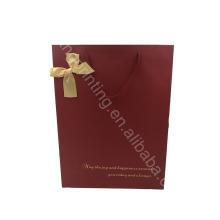 ¡Personalizado! Bolsa de papel directa de la promoción del precio de fábrica