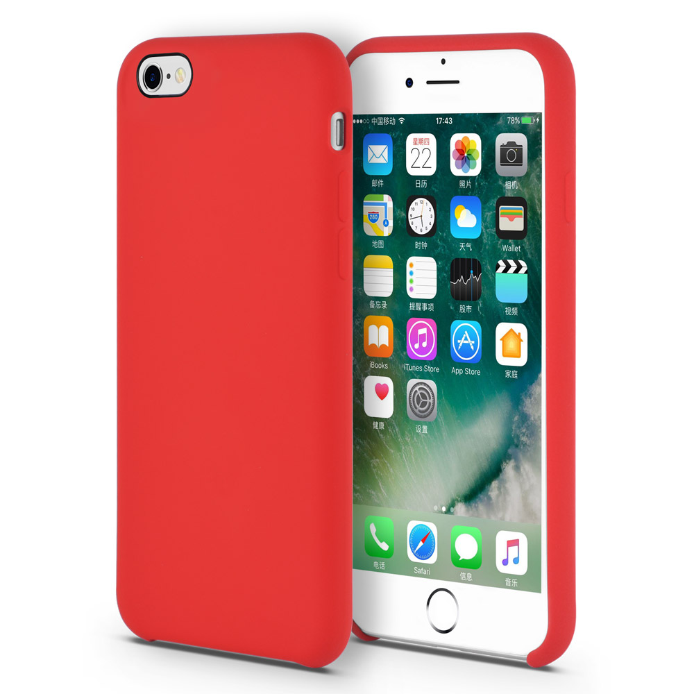 Liquid Silicone iphone 6 plus case